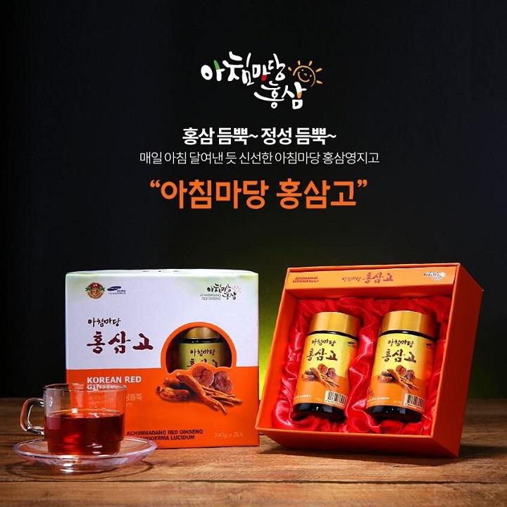 hồng sâm Hàn Quốc cho người già